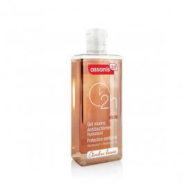 ASSANIS 2.0 gel mains antibactérien hydratant ambre boisée 60ml