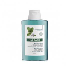 KLORANE Anti-pollution shampooing détox à la menthe aquatique 200ml