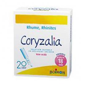 BOIRON Coryzalia solution buvable en récipient unidose 20x1ml