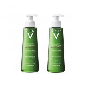 VICHY Normaderm phytosolution gel purifiant intense peaux grasses lot 2x400ml