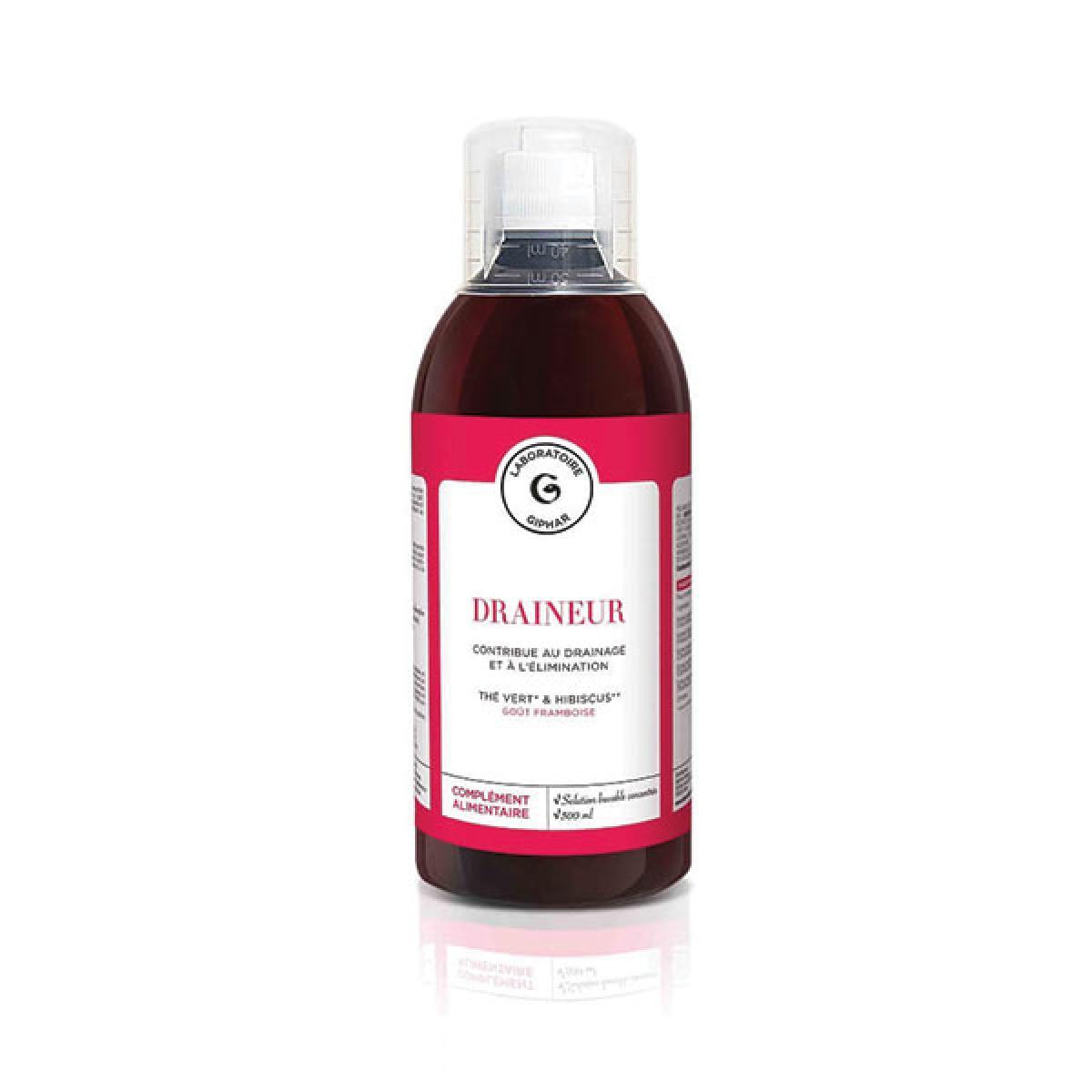 LABORATOIRE GIPHAR Draineur 500ml - Parapharmacie - Pharmarket