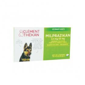 CLÉMENT THÉKAN Milprazikan chiots et petits chiens 0,5-10kg 2 comprimés