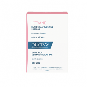 DUCRAY Ictyane pain dermatologique surgras 200g