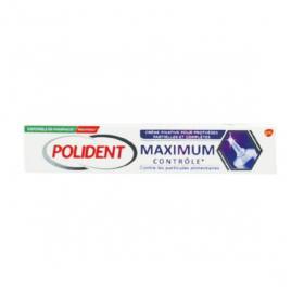 GLAXO SMITH KLINE Polident crème fixative maximum contrôle 70g