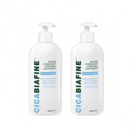 BIAFINE Cicabiafine baume hydratant corps lot 2x400ml