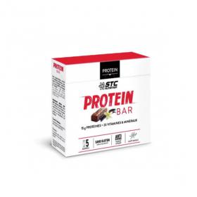 STC NUTRITION Protein bar goût vanille 5 barres