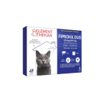 CLÉMENT THÉKAN Fiprokil duo chat 50mg/60mg 4 pipettes