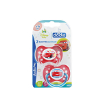 DODIE Disney baby cars 2 sucettes anatomiques silicone 6 mois et +