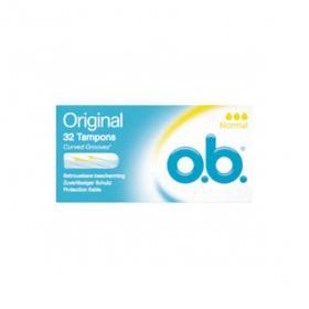 O.B. Original 32 tampons normal