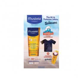 MUSTELA Mon kit protection solaire 2019 les schtroumps