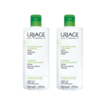 URIAGE Eau micellaire thermale peaux mixtes à grasses lot 2x500ml