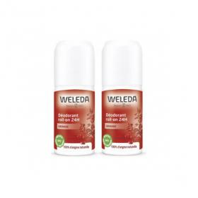 WELEDA Déodorant roll-on 24h grenade lot 2x50ml