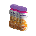 NUTRICIA Fortimel jucy arôme orange 4x200ml