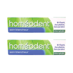 BOIRON Homéodent soin blancheur chlorophylle lot 2x75ml