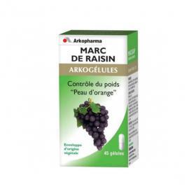 ARKOPHARMA Arkogélules marc de raisin 45 gélules