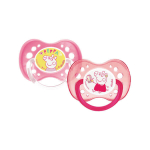DODIE Duo sucettes anatomiques +18 mois peppa peppa pig