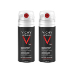 VICHY Homme déodorant anti-transpirant triple diffusion lot 2x150ml