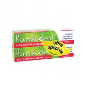 BOIRON Homéodent soin premières dents 2-6 ans lot 2x50ml