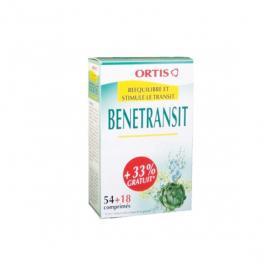 ORTIS Ortis benetransit 54 + 18 comprimés