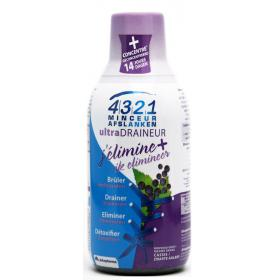 4321 MINCEUR Ultra draineur goût cassis 280ml