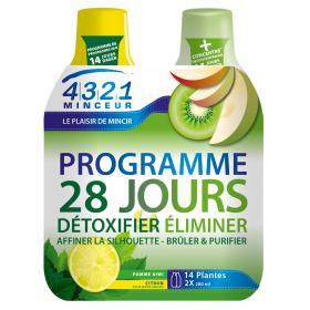 Programme 28 jours pomme kiwi 2x280ml