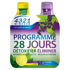 4321 MINCEUR Programme 28 jours cassis 2x280ml