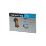 BIOCANINA Fiprodog 67mg solution spot-on petits chiens 3 pipettes