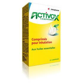 Activox 20 comprimés pour inhalation