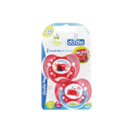 DODIE Disney baby cars 2 sucettes anatomiques silicone 18 mois et +