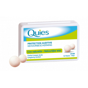 QUIES Protection auditive en cire 12 paires