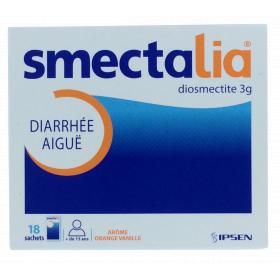 IPSEN Smectalia orange-vanille poudre 18 sachets