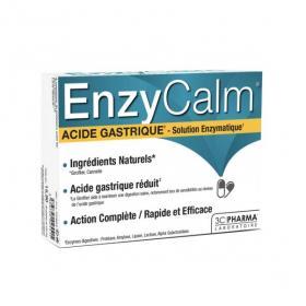 3C PHARMA EnzyCalm acide gastrique 30 gélules