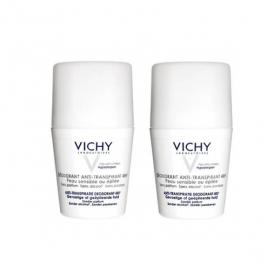 VICHY Déodorant bille peaux sensibles lot de 2x50ml