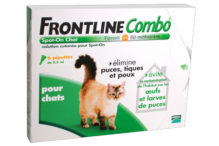 Frontline combo chats 6 pipettes parapharmacie pharmarket - Frontline combo chat 6 pipettes ...
