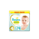 PAMPERS Premium protection maxi pack 78 couches taille 4