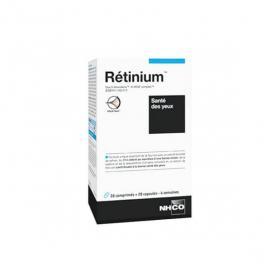 NHCO Rétinium santé des yeux 28 comprimés + 28 capsules
