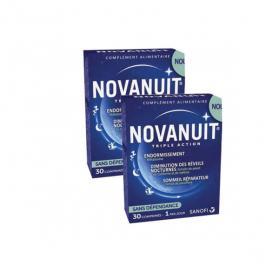SANOFI Novanuit triple action lot 2x30 comprimés