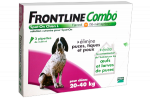FRONTLINE Combo chiens 20-40kg 4 pipettes
