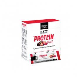 STC NUTRITION Barres protéinées goût fruits rouges 5 barres 45g