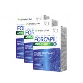 ARKOPHARMA Forcapil anti-chute lot 3x30 comprimés