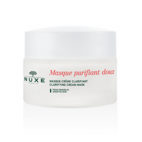 Masque purifiant doux aux pétales de rose 50ml