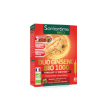 SANTAROME Bio duo ginseng 1000 20 ampoules