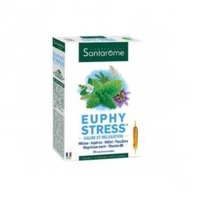 SANTAROME Euphy stress 20 ampoules