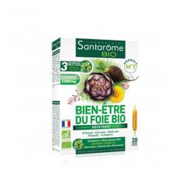 SANTAROME Bio bien-être du foie 20 ampoules