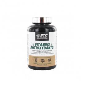 STC NUTRITION 33 vitamines & antioxydants 90 gélules