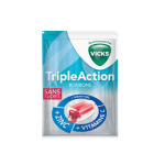VICKS Triple action bonbons 72g