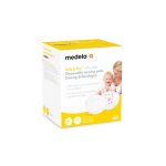 MEDELA Safe & Dry 60 coussinets d'allaitement à usage unique ultra thin