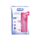 DODIE Initiation+ 2 biberons anti-colique peppa pig rose 330ml