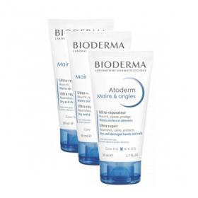 BIODERMA Atoderm mains lot 3x50ml