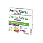 ORTIS Fruits & fibres regular transit intestinal lot 2x24 cubes